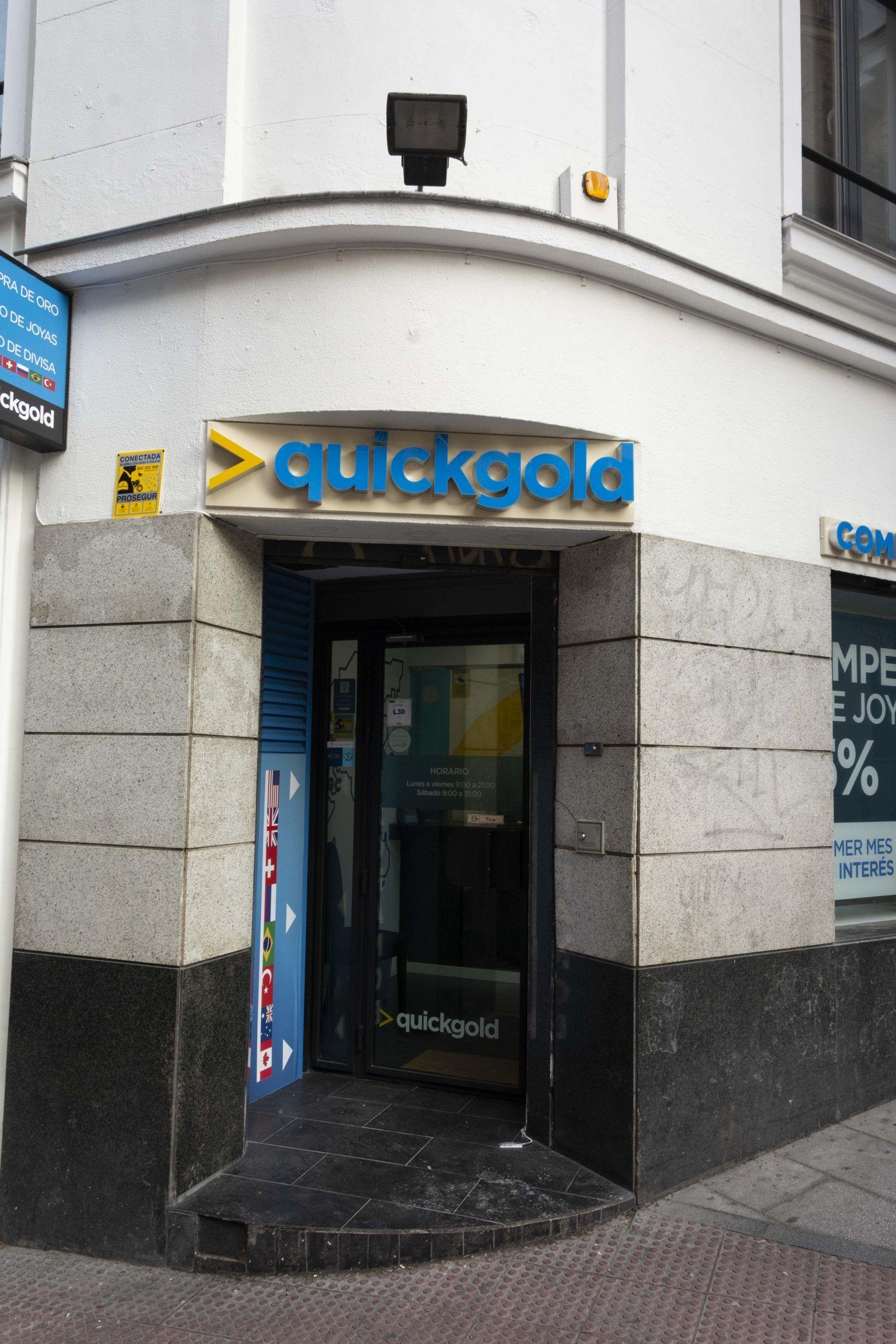 Tienda Quickgold San Bernardo