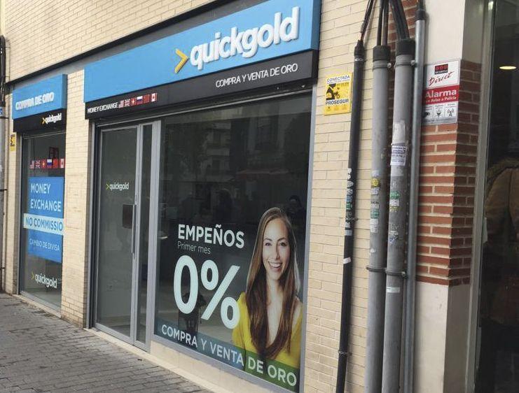 Tienda Quickgold Getafe