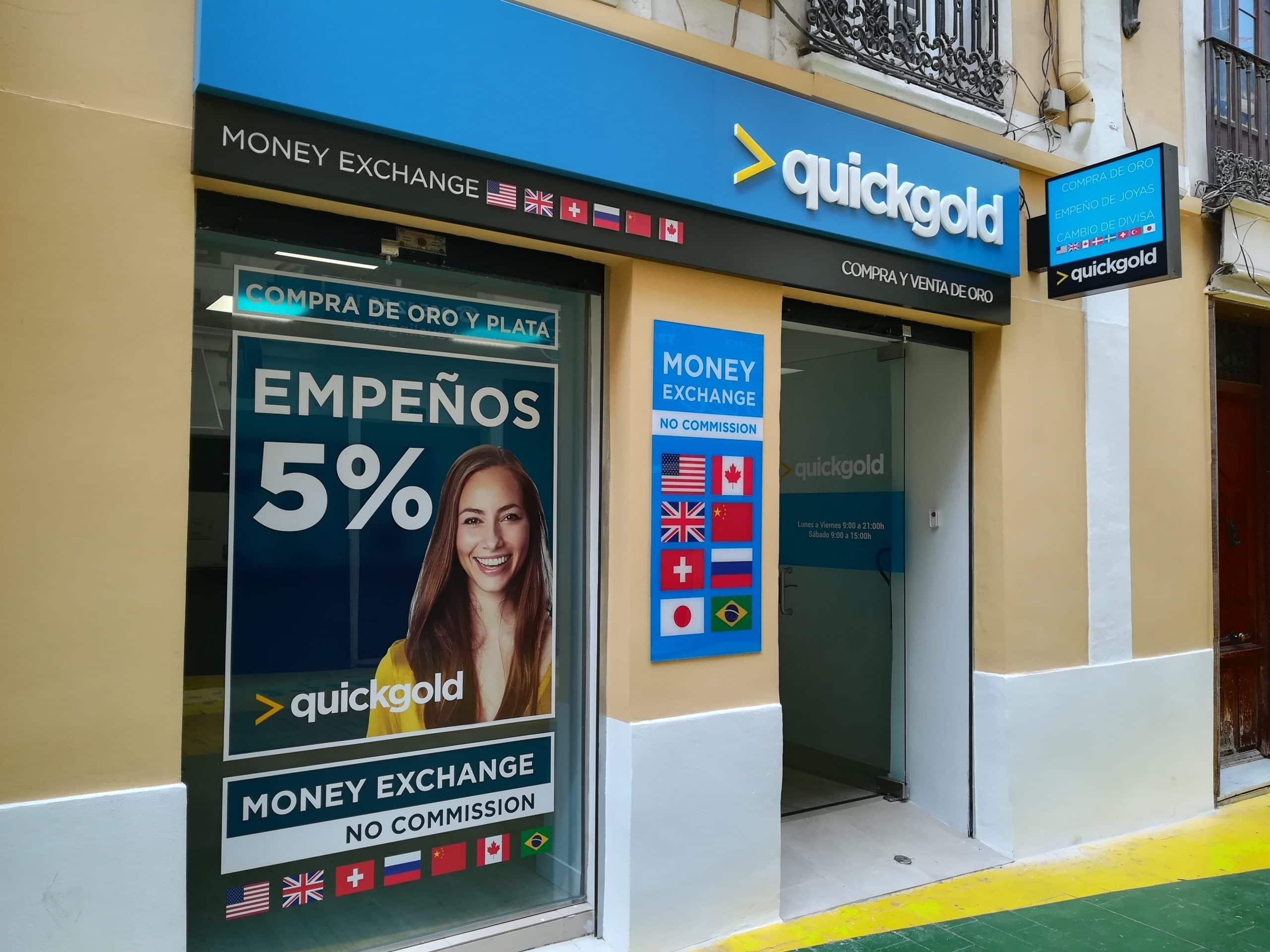 Tienda Quickgold San Francisco