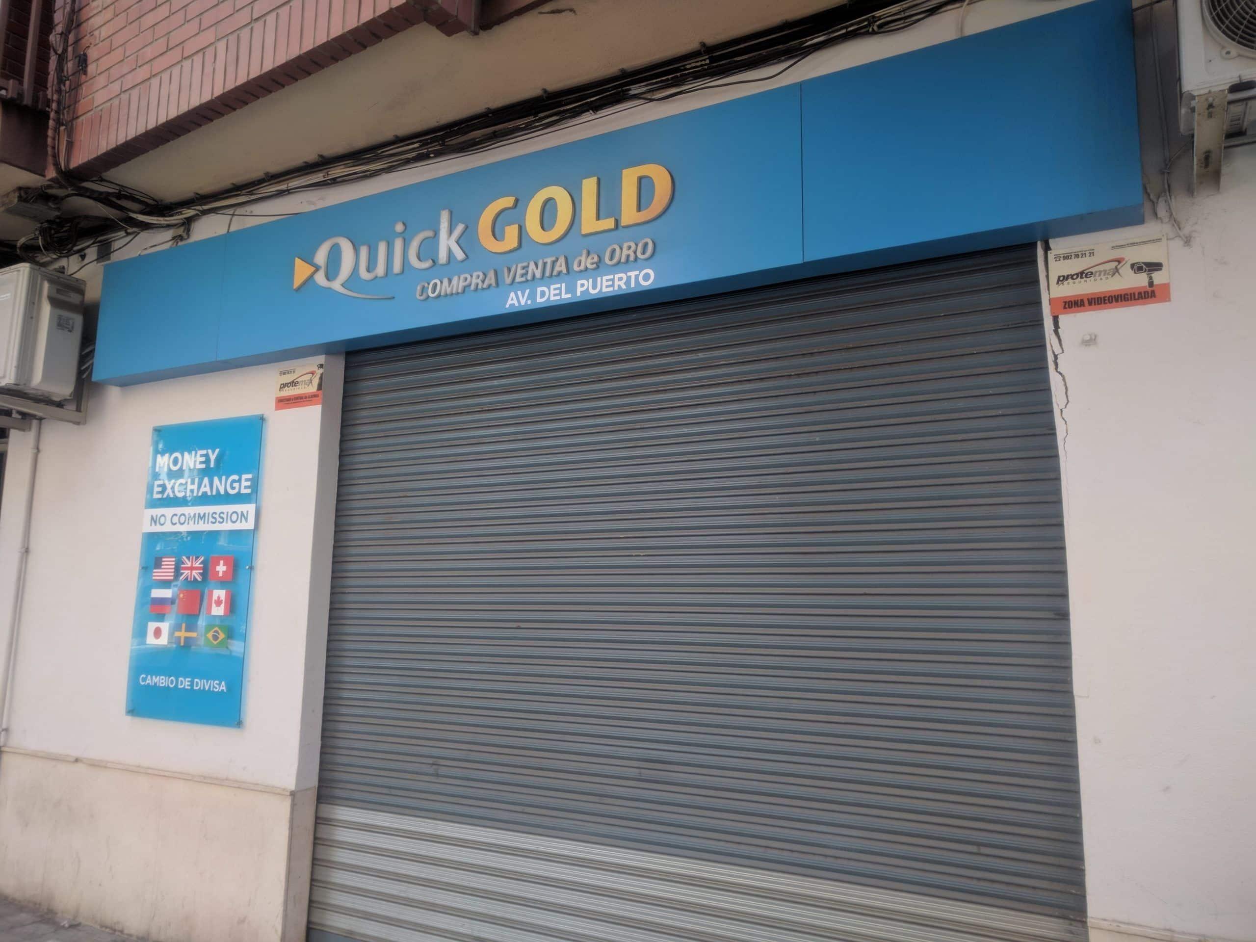 Tienda Quickgold Avenida del Puerto
