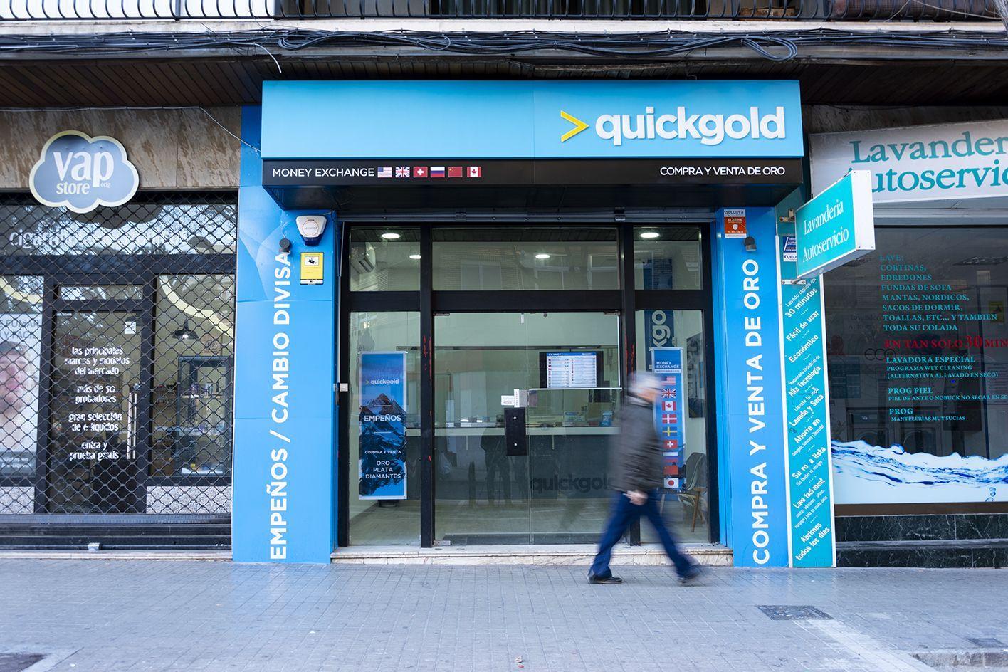 Tienda Quickgold Avenida Burjassot
