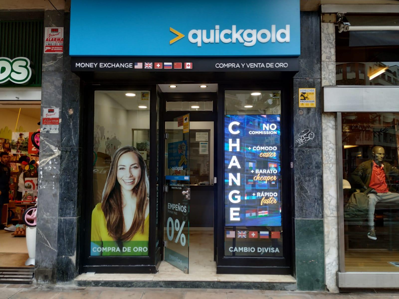 Tienda Quickgold Bilbao