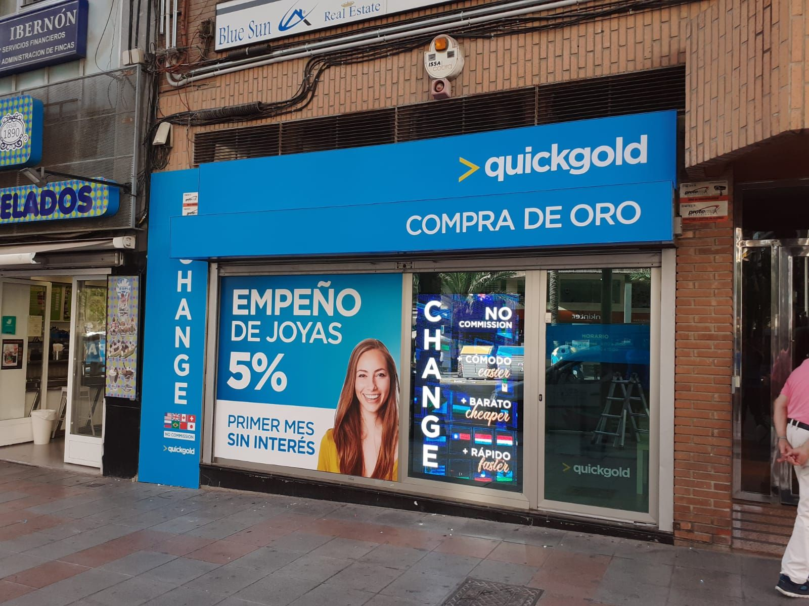 Quickgold Alfonso X | Compro oro, empeños y cambio de divisa