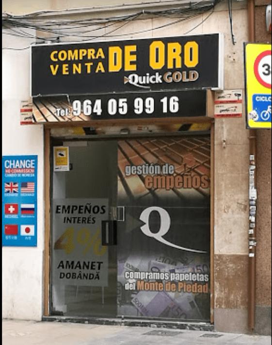 Tienda Quickgold Castellón