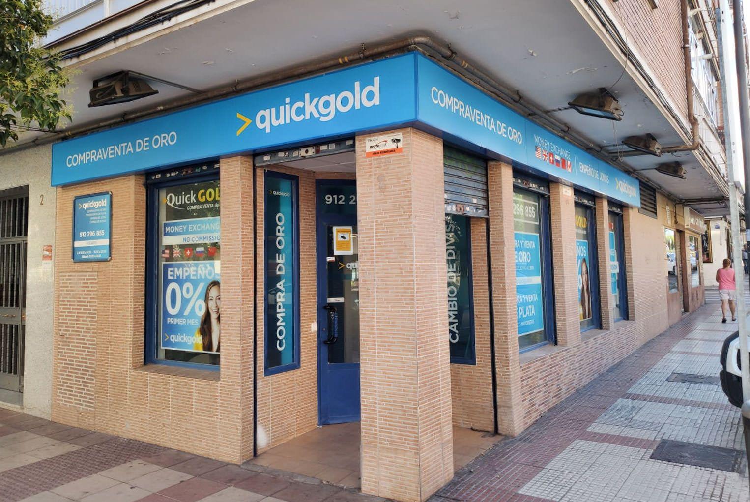 Quickgold Alcobendas - Tienda de compra de oro, empeños y cambio de divisas