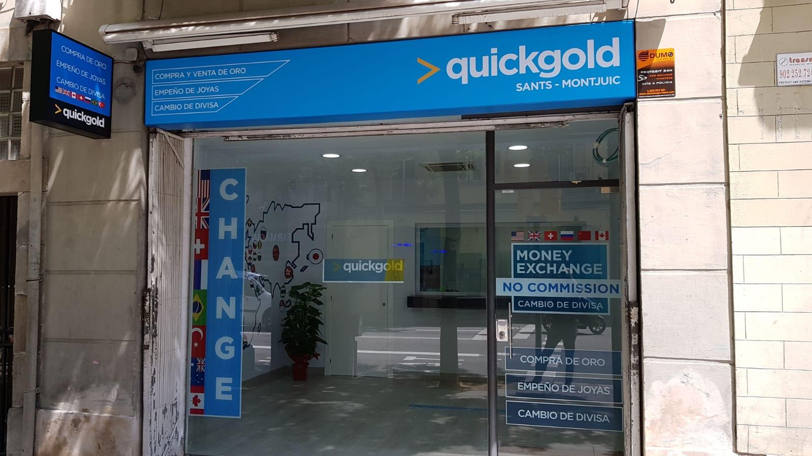 Tienda Quickgold Sants Montjuic en Barcelona