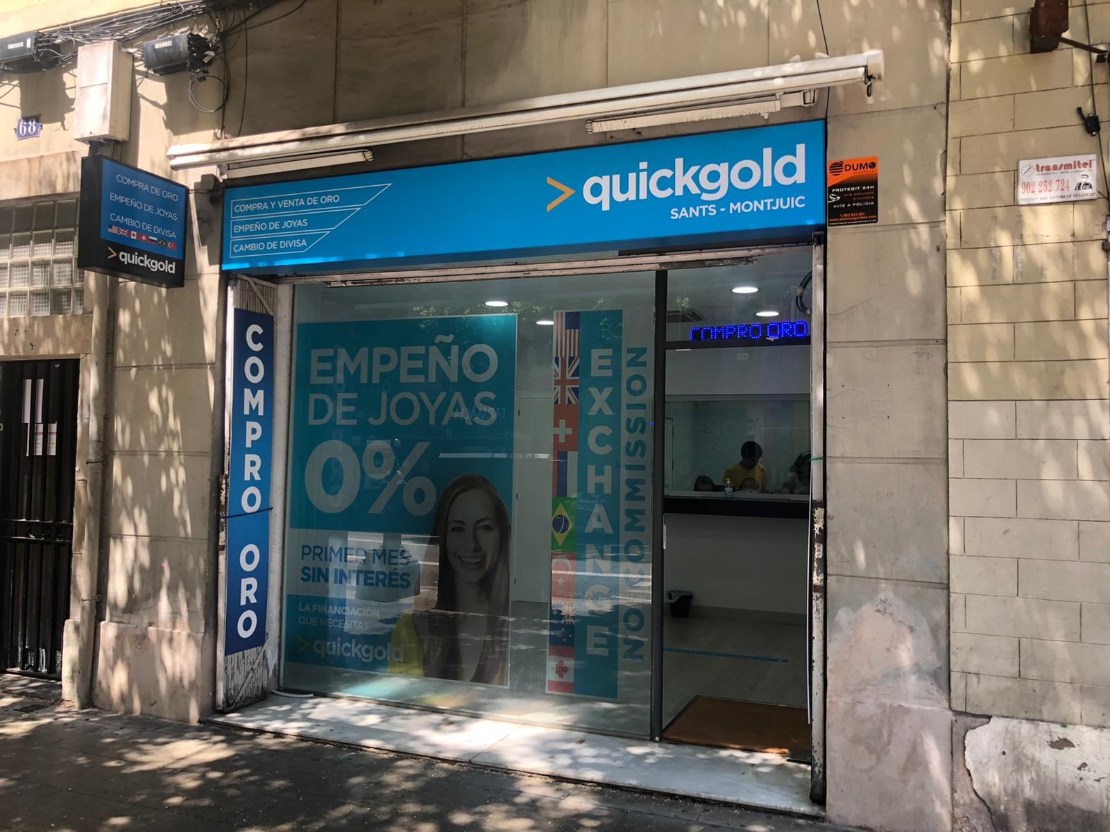 Exterior tienda Quickgold Sants-Montjuic