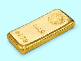 Lingote de oro de 250g