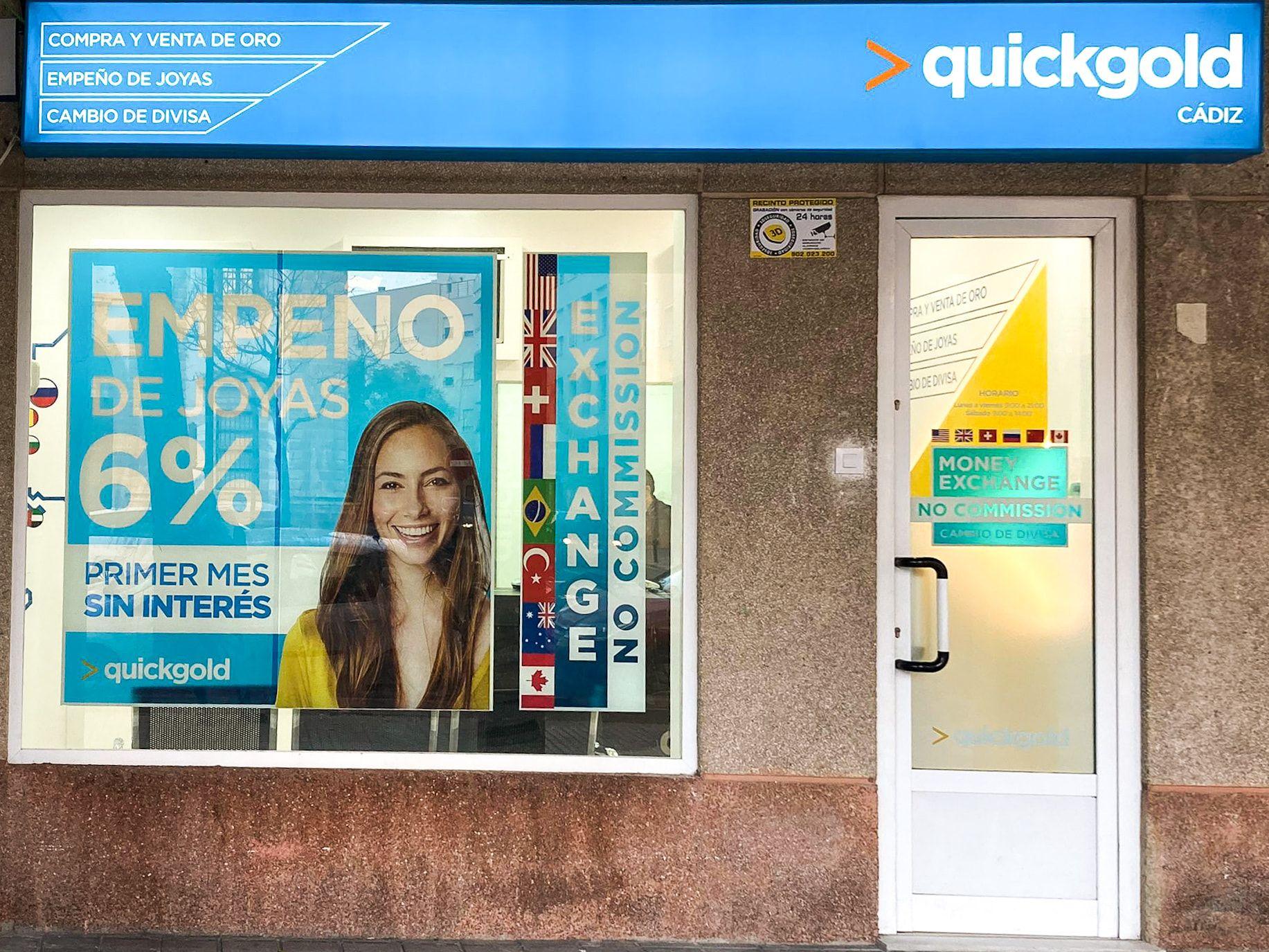 Exterior Tienda Quickgold Cádiz