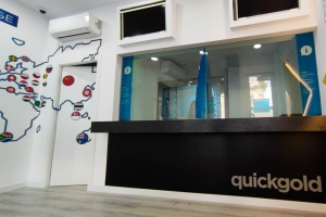 Interior Tienda Quickgold Cádiz