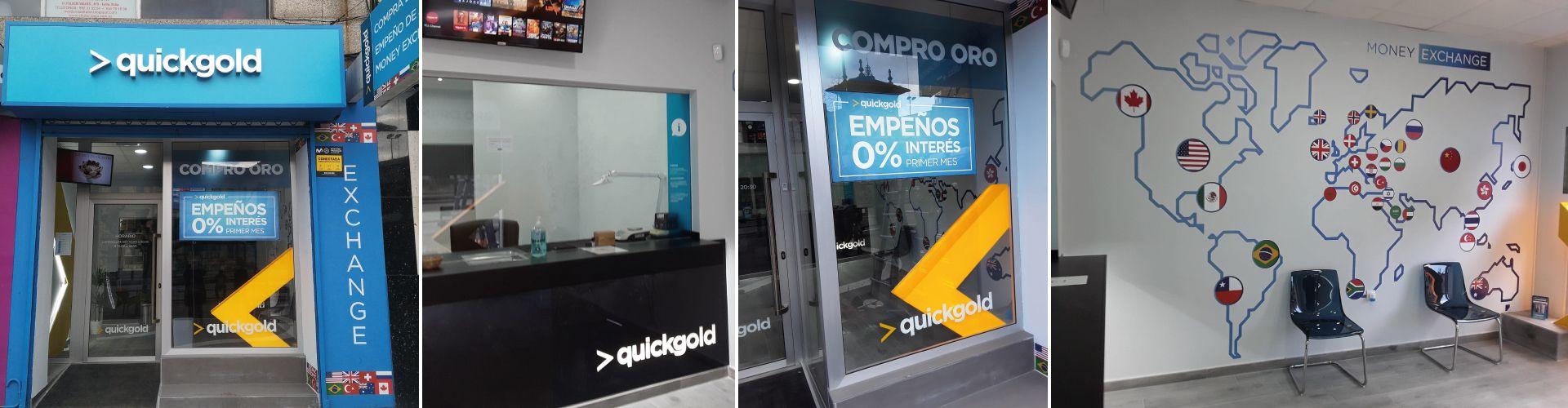 Apertura Quickgold Gijón