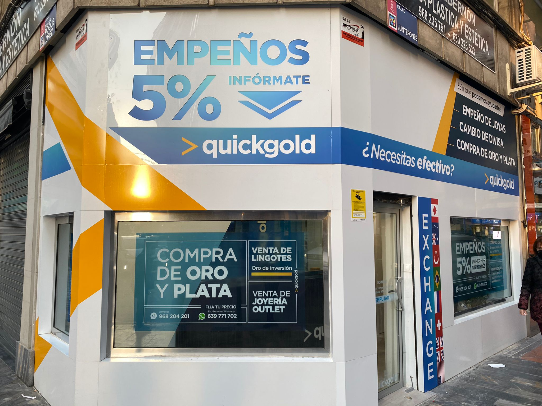Quickgold Junterones en Murcia
