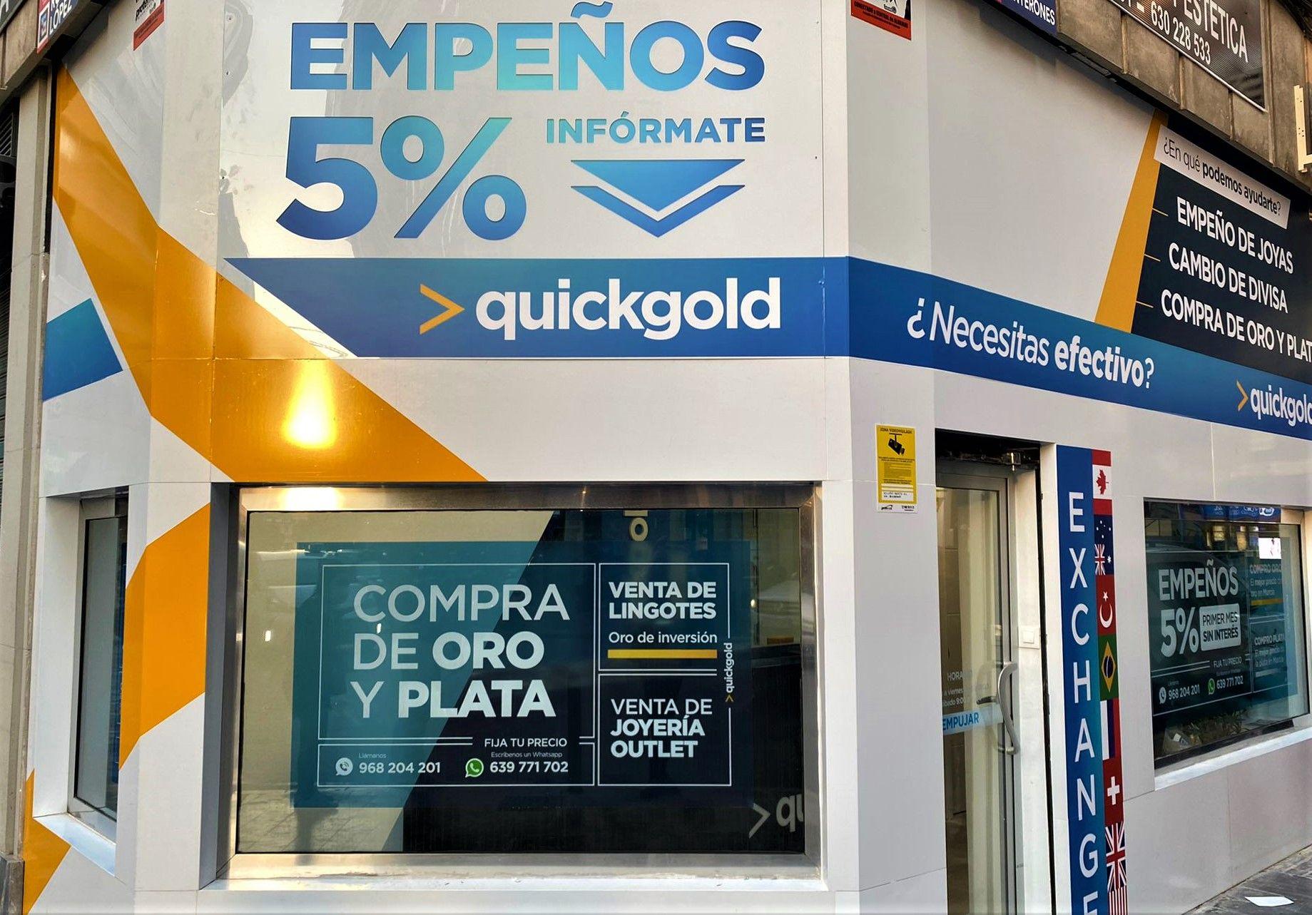 apertura Quickgold Murcia - Junterones