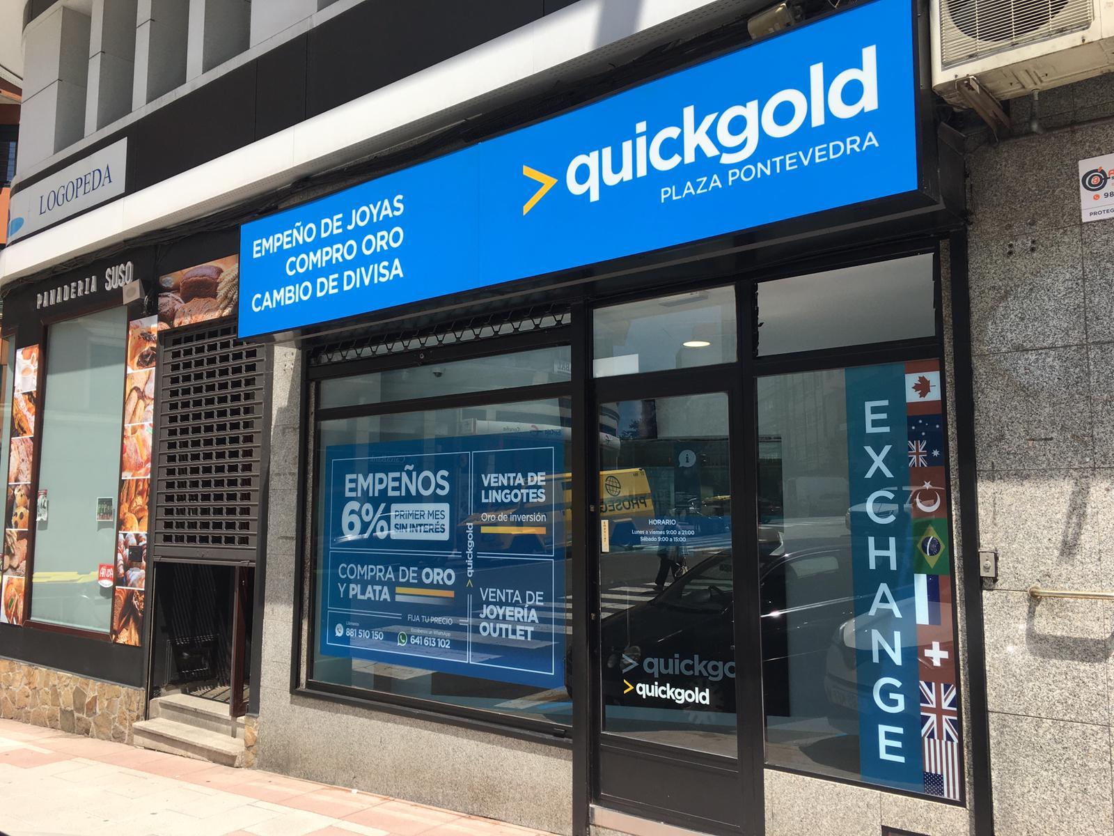 Apertura nueva tienda Quickgold en La Coruña (Plaza Pontevedra)